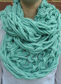 Arm Knit Scarf by AllisKnits on Etsy, $18.00