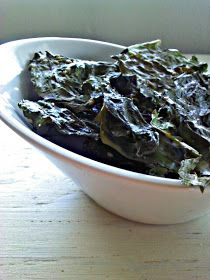 Snacking in the Kitchen | Food Blog: Baked Sesame Rainbow Swiss Chard Chips