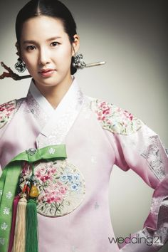 한복 Hanbok by jahong Korean Traditional Dress, Traditional Fashion, Traditional Dresses, Oriental Fashion, Ethnic Fashion, Asian Fashion, Korean Dress, Korean Outfits, Modern Hanbok