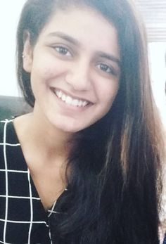Priya Prakash Varrier's enchanting smile is what you can't miss today, see PIC - Pinkvilla - Photos Beautiful Girl Indian, Beautiful Indian Actress, Actress Priya, India Fashion, New Face, Indian Beauty, Indian Actresses, Pretty Woman, Glamour