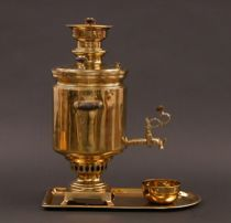 Brass Samovar dated 1882-1896
