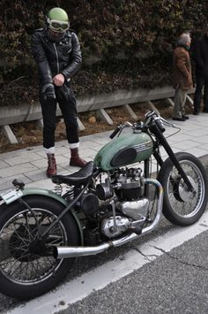 "I adore this bike.  From the Triumpher "" blog."