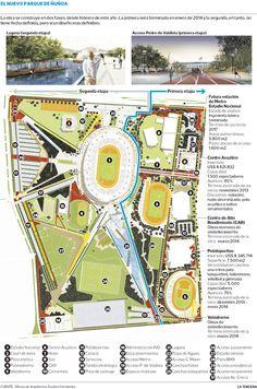 Ajustan diseño de Parque de la Ciudadanía de Estadio Nacional. #Chile octubre 2013