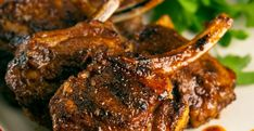 -*+Place the chops on a flat surface, then combine the remaining ingredients in…