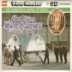 Cat From Outer Space View Master Reels