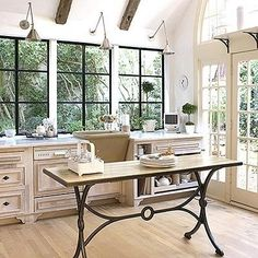 Greenhouse-Inspired Kitchens: Lots of Windows and Light! — Kitchen Inspiration | The Kitchn