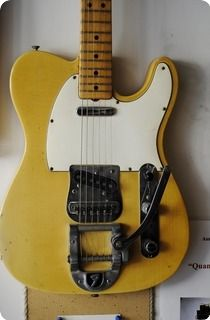 Fender Telecaster, year: 1969Blond, all original, Bigsby EXC, OHSC