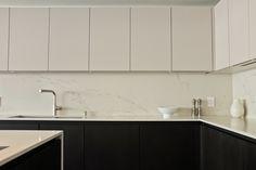 Modern Concrete Kitchen by Leicht