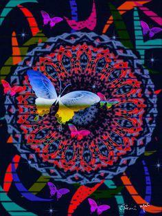 'FLOWER GARDERN' by eleni-mac-synodinos on artflakes.com as poster or art print $16.63
