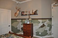 camo themed rooms | Painting and Design by Celeste: The camo room