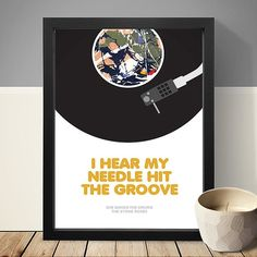 The Stone Roses She Bangs The Drums Poster Music by LawandMoore
