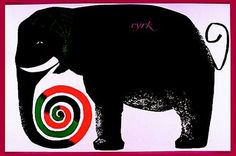 Hubert Hilscher, 1964 Polish Cyrk Poster (for anyone that doesn't know, 'cyrk' means circus!)