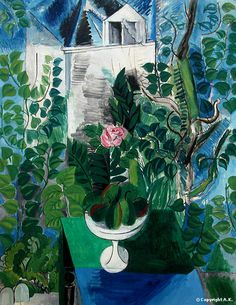 Raoul Dufy Simple drawing but the colors bring purpose to the painting