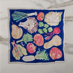 f/w produce (giant) 53 x 53 in