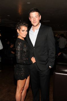 Lea Michele and Cory Monteith: Chic Couple at Comic-Con