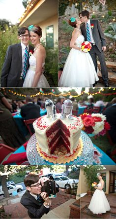 love everything. cake toppers to short dress. so good.