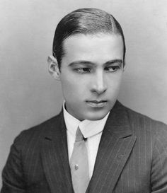 Rudolph Valentino.  The consummate heartthrob.  Women lost their minds with grief at this man's funeral.  -knh