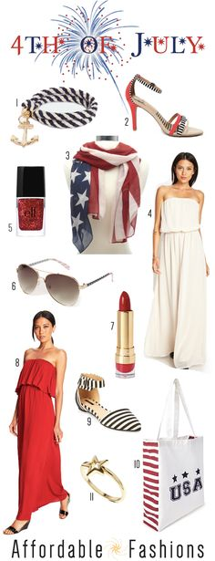 Affordable 4th of July Fashion  Accessories