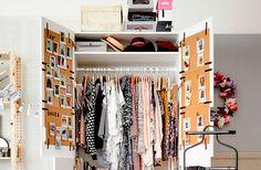Ideias de como organizar o armário todo para ter ideias na hora de se vestir melhor