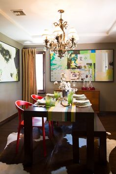 Jacey & Grant's Modern Eclectic House