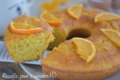 Ciambella Pan d Arancio Cakes, Vitamin C, Cake Makers, Kuchen, Cake, Pastries, Cookies, Torte, Layer Cakes