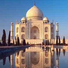 taj mahal; india