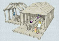 WikiHouse by Sketchup coming to Maker Faire NYC!