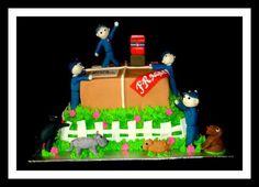 Post office cake