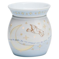 Just could not decide what to get that new mom for the baby. Scentsy has a lovely collection of Warmers for the nursery