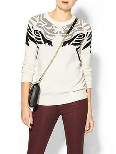 yes! ->Hive & Honey Dragon Pullover Sweater | Piperlime
