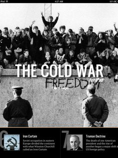 Cold War for iPad (Best America history apps for high school)