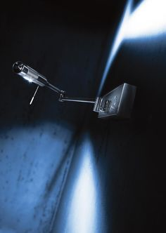 Incredible wall light. It's made by Holtkötter in Germany... strong LED lighting source