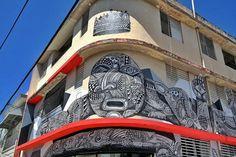 Santurce, Puerto Rico street art.