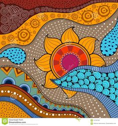 Find Handdrawn Ethno Pattern Tribal Background Can stock images in HD and millions of other royalty-free stock photos, illustrations and vectors in the Shutterstock collection. Tribal Pattern Art, African Tribal Patterns, Tribal Art, Quilling Patterns, Doodle Patterns, Tribal Background, African Theme, African Style, Style Africain