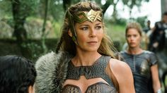 Connie Nielsen chats about Wonder Woman's Hippolyta. She plays Queen Hippolyta in the new film.