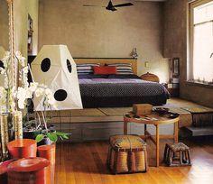 All the beautiful things I want: Akari UF3-Q floor lamp by Isamu Noguchi - $450