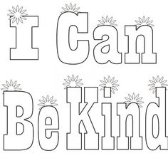 Letter K is for Kindness coloring page | Free Printable ...