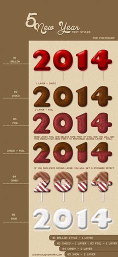 Happy New Year Styles by IvaxXx