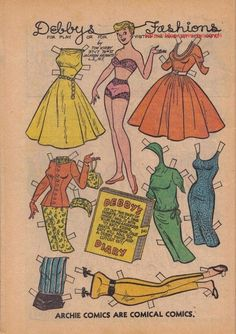 DEBBY'S Fashions Cut out diary fold and put dime ...