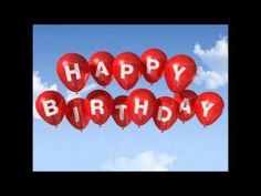 Red Happy Birthday balloons in the sky 20th Birthday Wishes, Birthday Card Messages, Happy 20th Birthday, Cool Birthday Cards, Birthday Wishes Quotes, Happy Birthday Pictures, Happy Birthday Balloons, Birthday Greetings, Birthday Memes