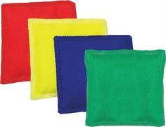 "Canvas Bean Bags - 4"" (Set of 12)"