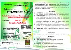Gente de Villaverde: Seminario en Villaverde Alto