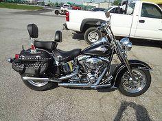 eBay: 2010 Harley-Davidson Softail 2010 HARLEY DAVIDSON HERITAGE SOFTAIL-FLSTC WITH 6100 MILES #harleydavidson