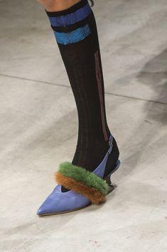 Cividini at Milan Fashion Week Fall 2018 - Details Runway Photos