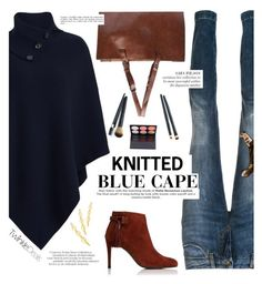 Knitted Cape -TwinkleDeals by yexyka on Polyvore featuring polyvore fashion style Dolce&Gabbana Urban Decay clothing