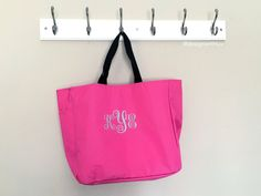 bridesmaid tote bags set of monogrammed tote bags, personalized tote… Bridesmaid Tote Bags, Bridesmaid Gifts, Monogram Tote Bags, Reusable Tote Bags, Bridal, Trending Outfits, Unique Jewelry, Handmade Gifts, Etsy