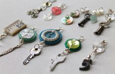 With these Repurposed Button Charms, you will have unique and chic charms to put on any DIY necklace, bracelet, and more. Instead of just explaining how to make them with written instructions, this tutorial features a clear and easy-to-follow video that shows you how to make these creative DIY jewelry pieces.