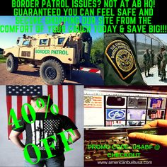 Super Cyber Monday Savings! Cyber Monday Only!!  You may not feel safe and secure with our borders, but guaranteed you can feel safe and secure shopping our site from the comfort of your couch today! www.americanbuiltusa.com