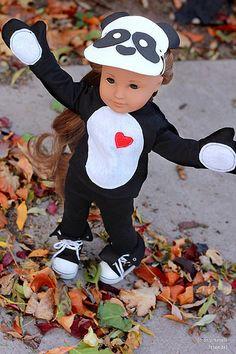 Panda Halloween Costume for Kanani