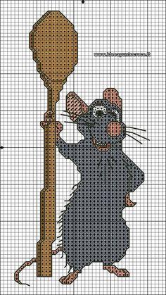 Remy Ratatouille II 2 Of 3